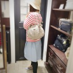 Spring colour leather bag