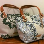 French Fabric Bag