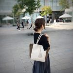 SIDE SUEDE TOTE BAG