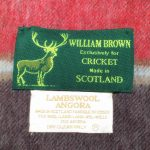 WILLIAM BROWN 〜Exclusively for CRICKET〜
