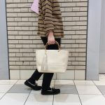 BAMBOO HANDLE 2WAY BAG