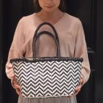 CHEVRON STRIPES BAG